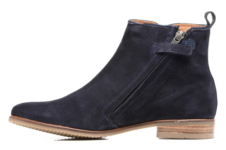 Bottines et boots Adolie Odeon Preppy Bleu vue face