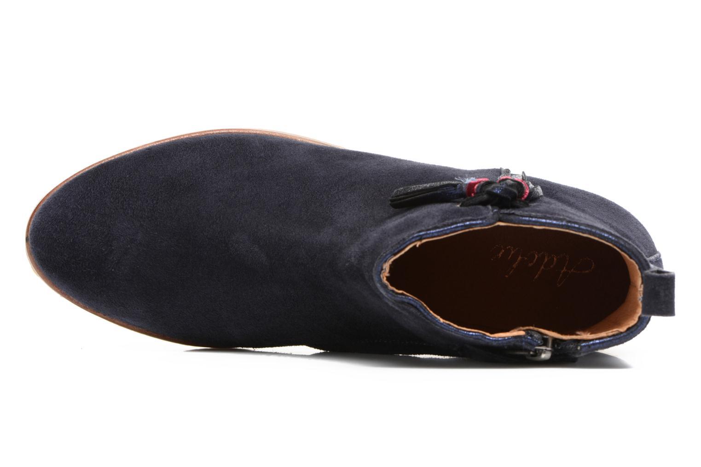 Bottines et boots Adolie Odeon Preppy Bleu vue gauche