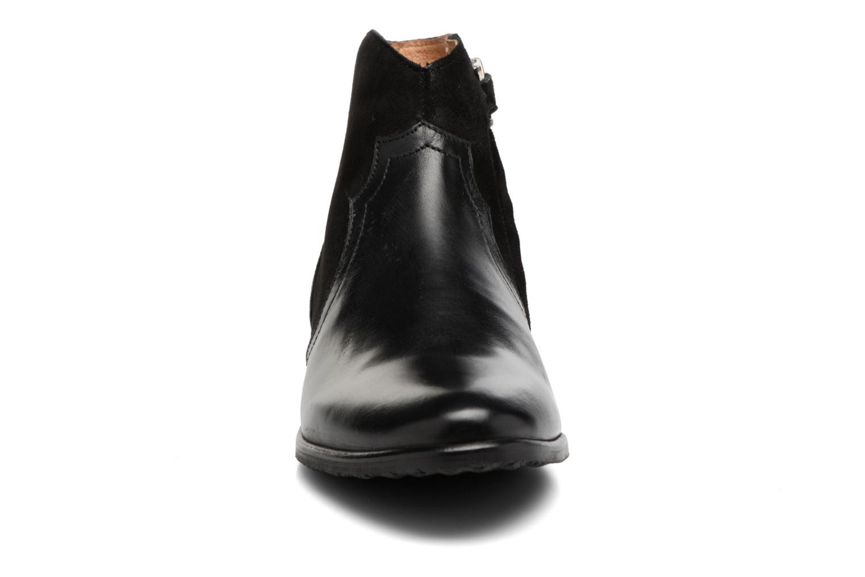 Bottines et boots Adolie Odeon West Noir vue portées chaussures