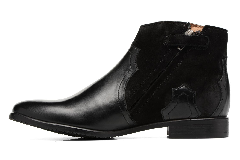 Bottines et boots Adolie Odeon West Noir vue face