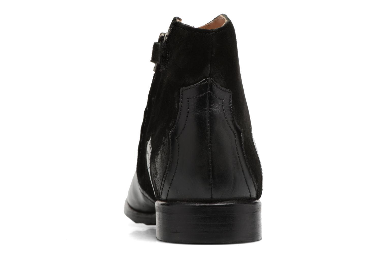 Bottines et boots Adolie Odeon West Noir vue droite