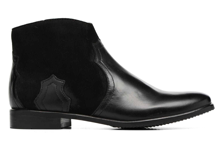 Bottines et boots Adolie Odeon West Noir vue derrière