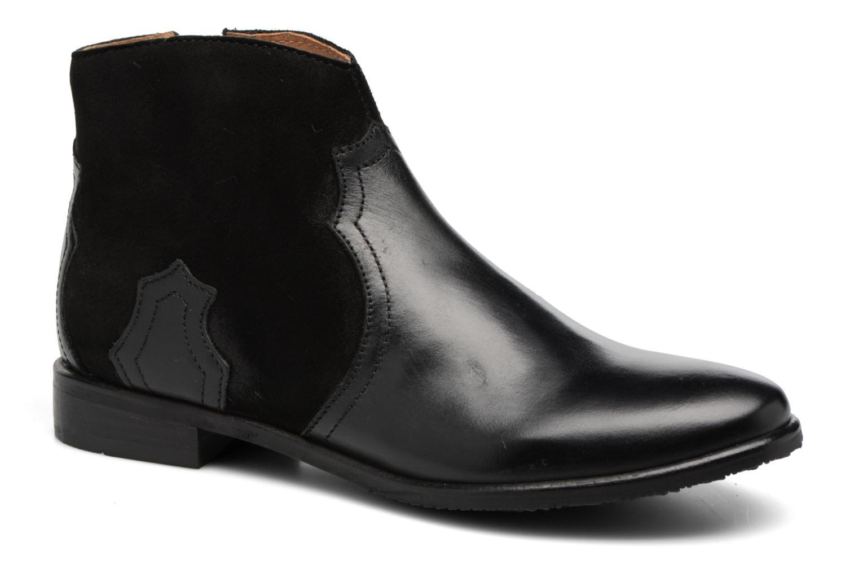 Bottines et boots Adolie Odeon West Noir vue détail/paire