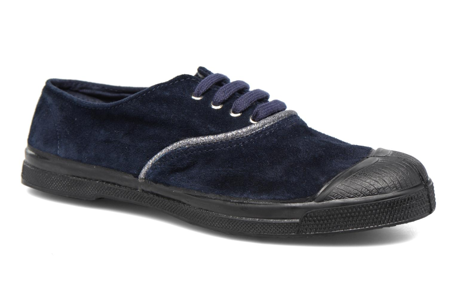 Trainers Bensimon Tennis Suedpiping F Blue detailed view/ Pair view