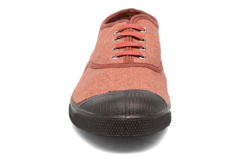 Baskets Bensimon Tennis Woolvintage Orange vue portées chaussures
