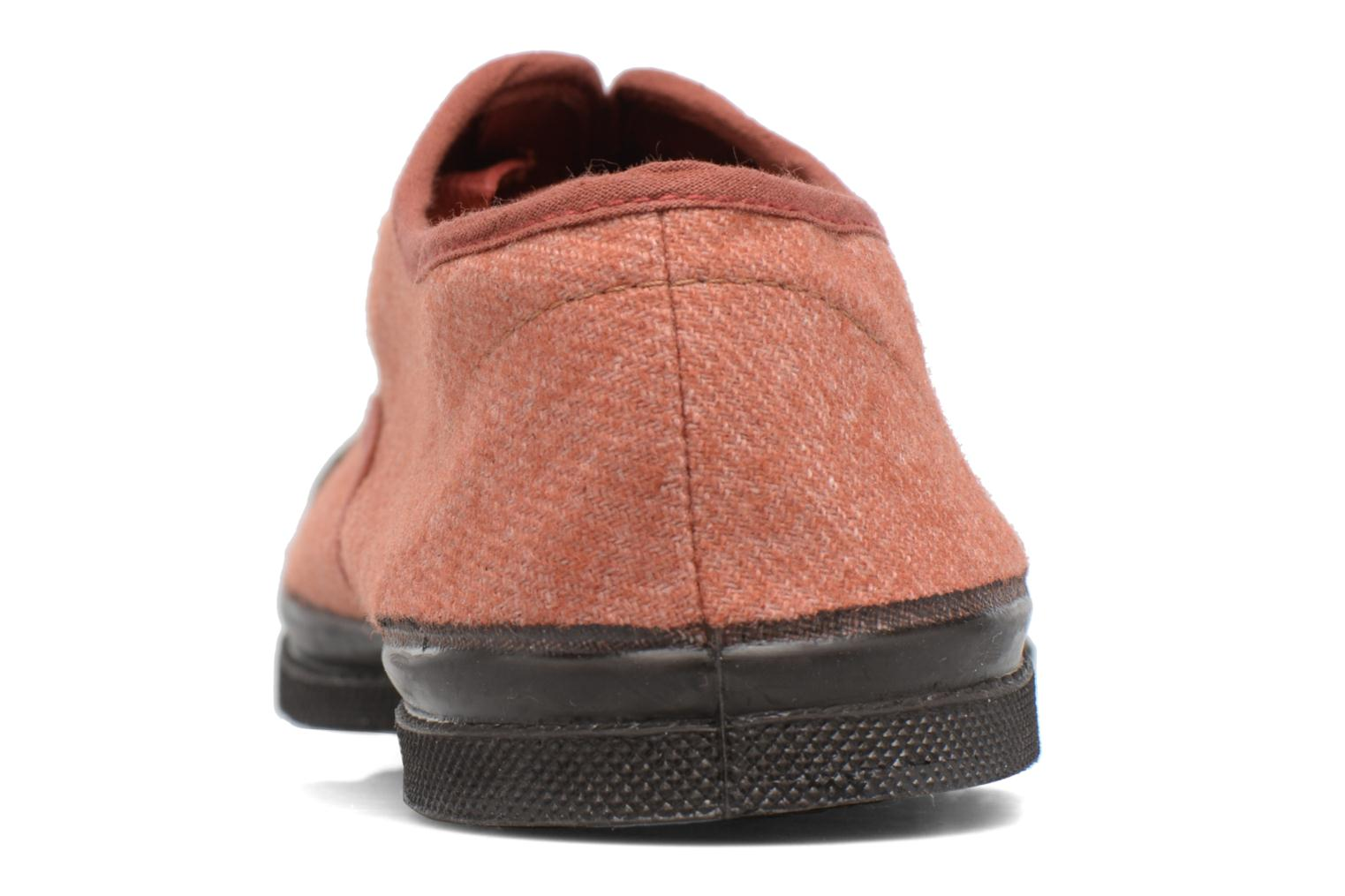 Trainers Bensimon Tennis Woolvintage Orange view from the right