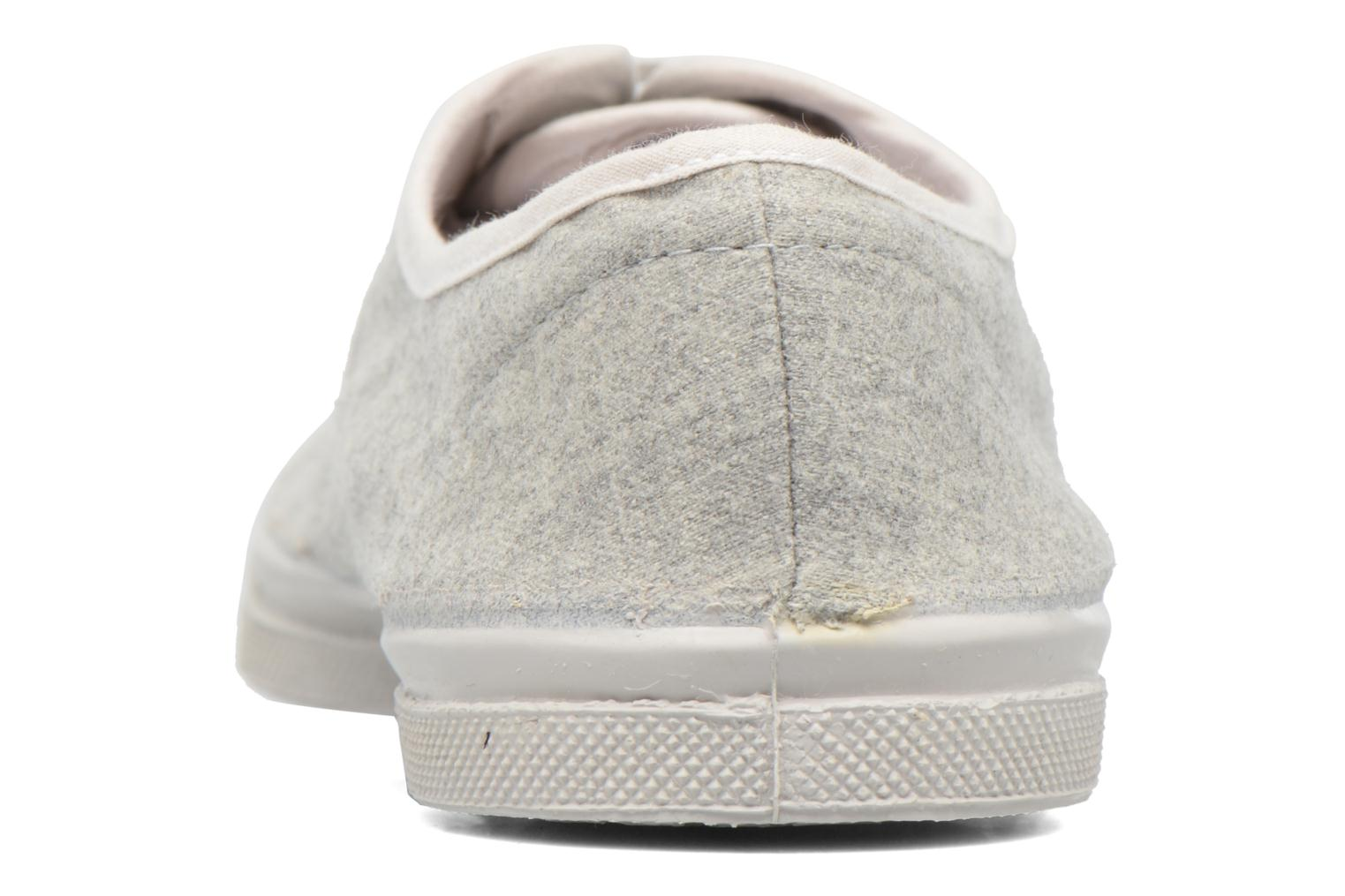 Trainers Bensimon Tennis Déperlantes Grey view from the right