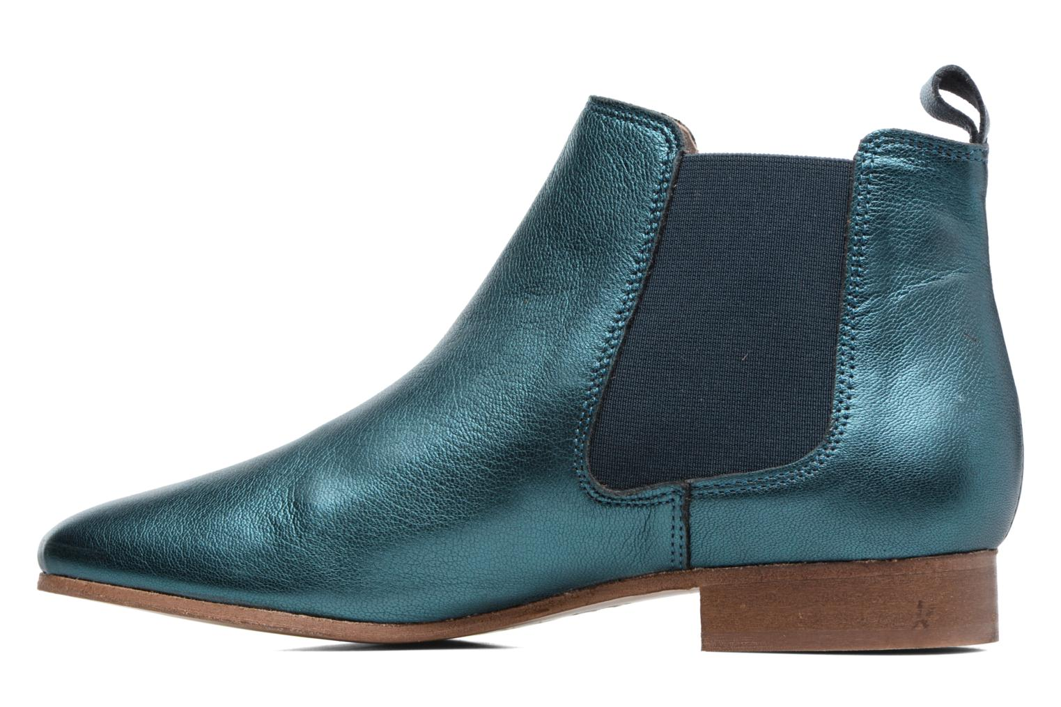 Ankle boots Bensimon Boots Chelsea Green front view