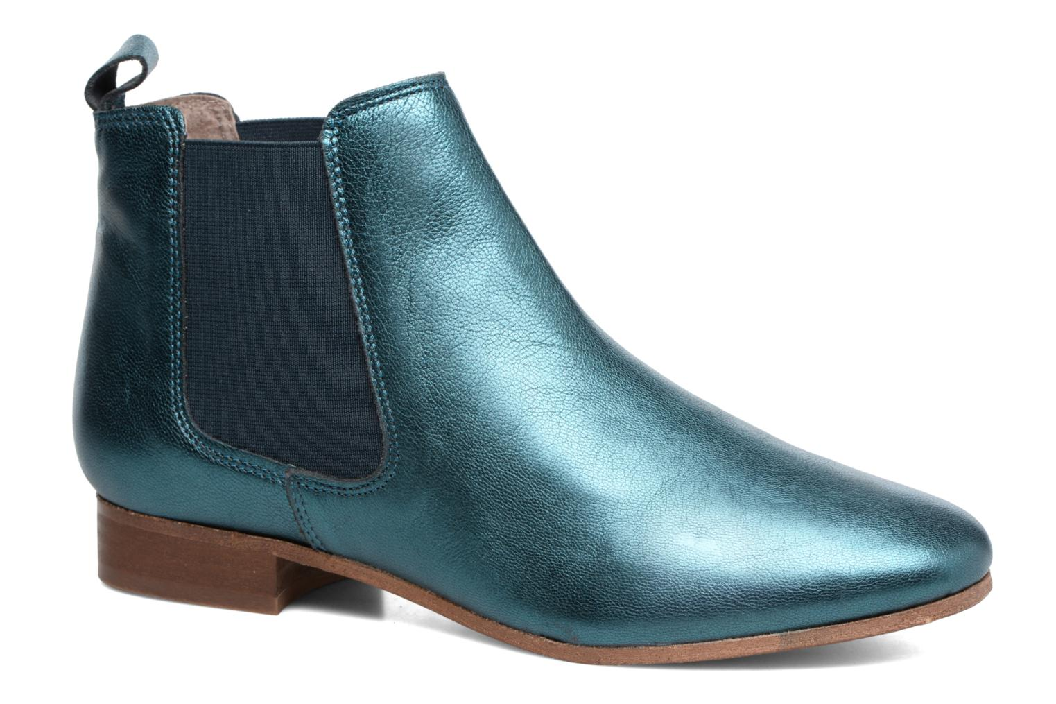 Ankle boots Bensimon Boots Chelsea Green detailed view/ Pair view