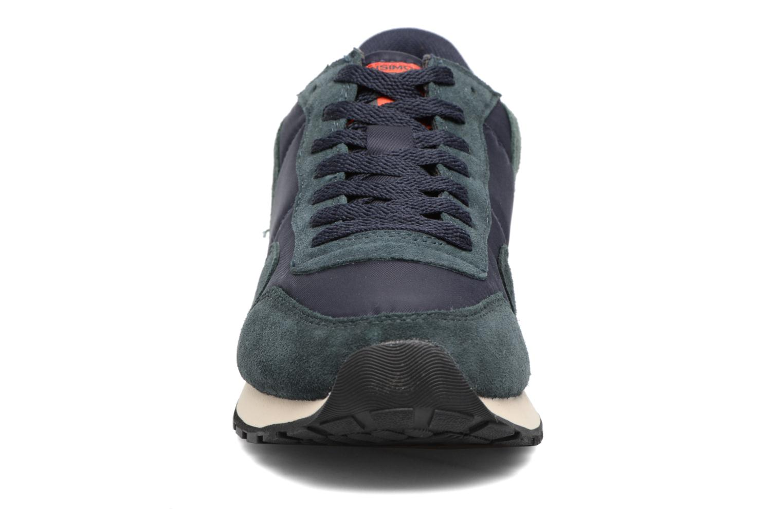 Baskets Bensimon Runnings H Bleu vue portées chaussures