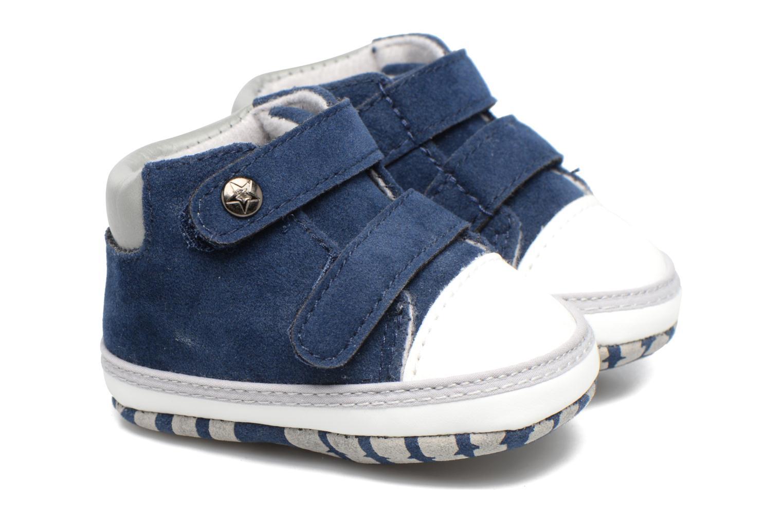 Baskets Canguro C57007A Bleu vue 3/4