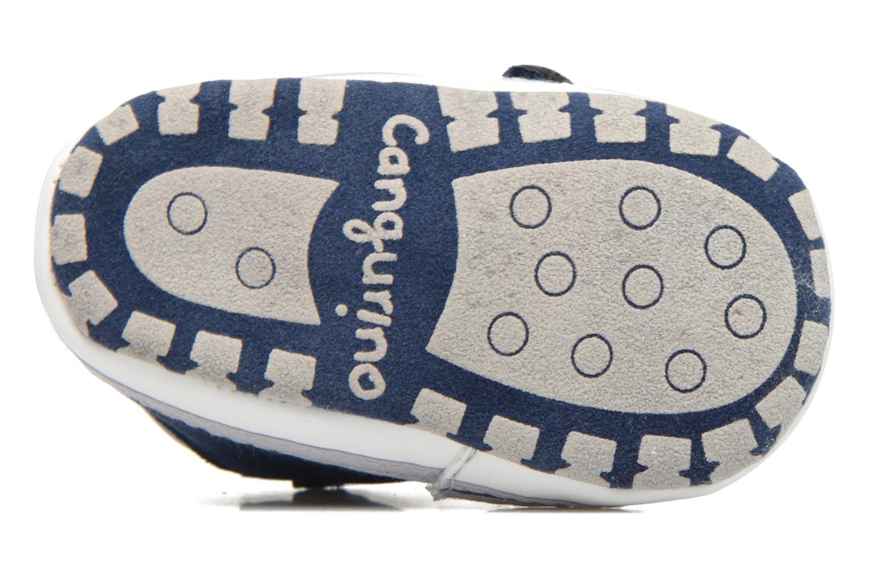Baskets Canguro C57007A Bleu vue haut