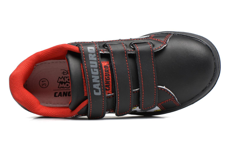 Baskets Canguro C57914 Noir vue gauche