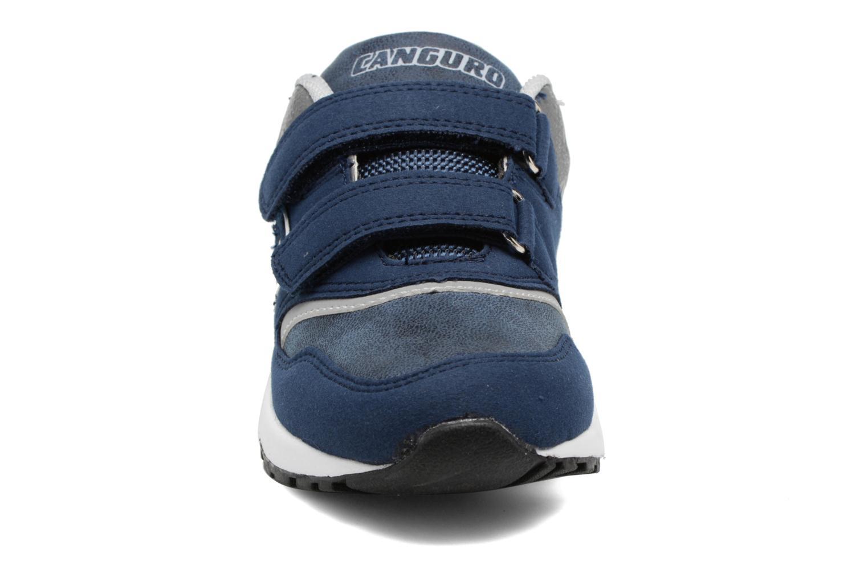 Baskets Canguro C57460 Bleu vue portées chaussures