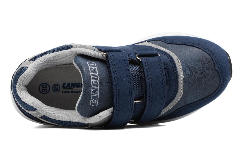 Baskets Canguro C57460 Bleu vue gauche