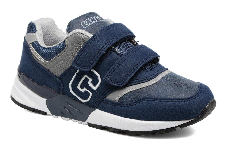 Baskets Canguro C57460 Bleu vue détail/paire