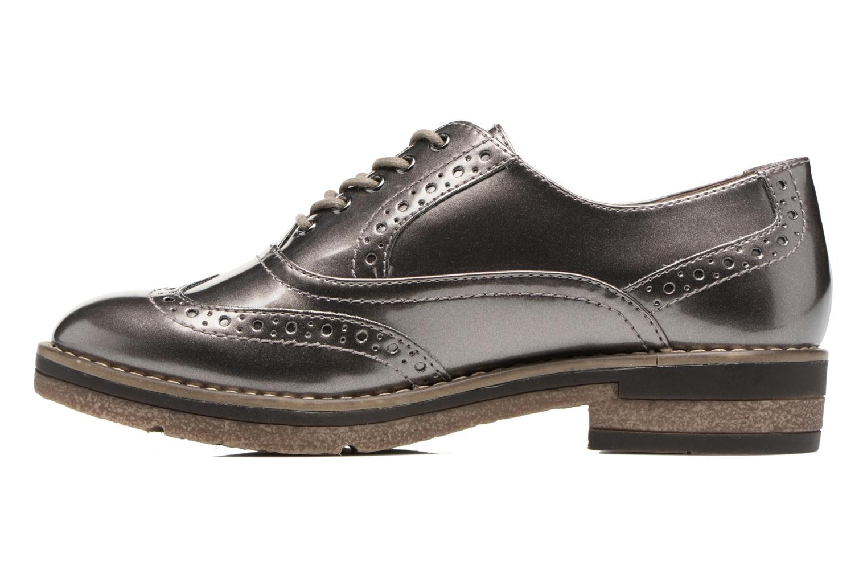 Chaussures à lacets Tamaris Mya Gris vue face