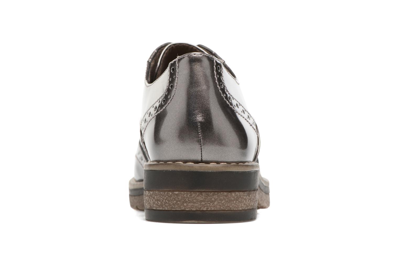Chaussures à lacets Tamaris Mya Gris vue droite