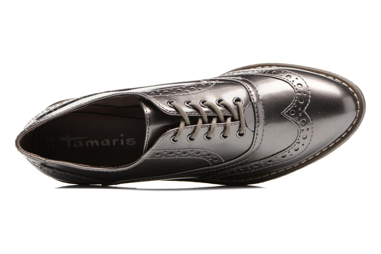 Chaussures à lacets Tamaris Mya Gris vue gauche