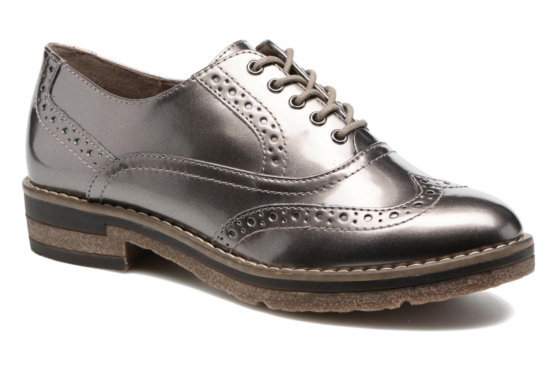 Chaussures à lacets Tamaris Mya Gris vue détail/paire