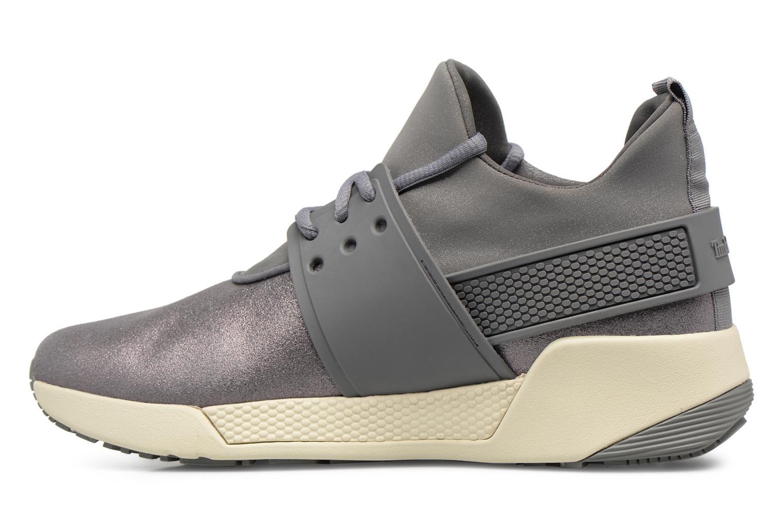 Sneaker Timberland Kiri Fly Chukka grau ansicht von vorne