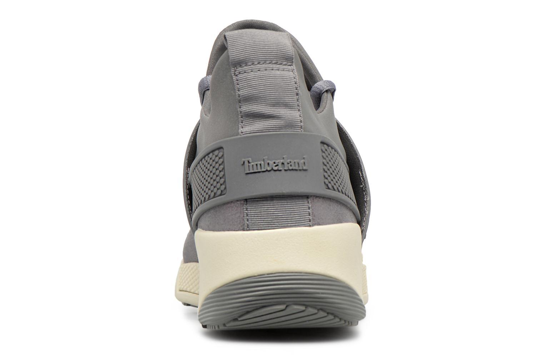 Sneaker Timberland Kiri Fly Chukka grau ansicht von rechts