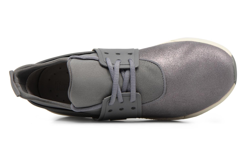 Sneaker Timberland Kiri Fly Chukka grau ansicht von links