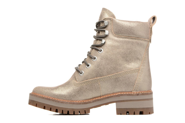 Stiefeletten & Boots Timberland Courmayeur Valley Yellow Boot gold/bronze ansicht von vorne