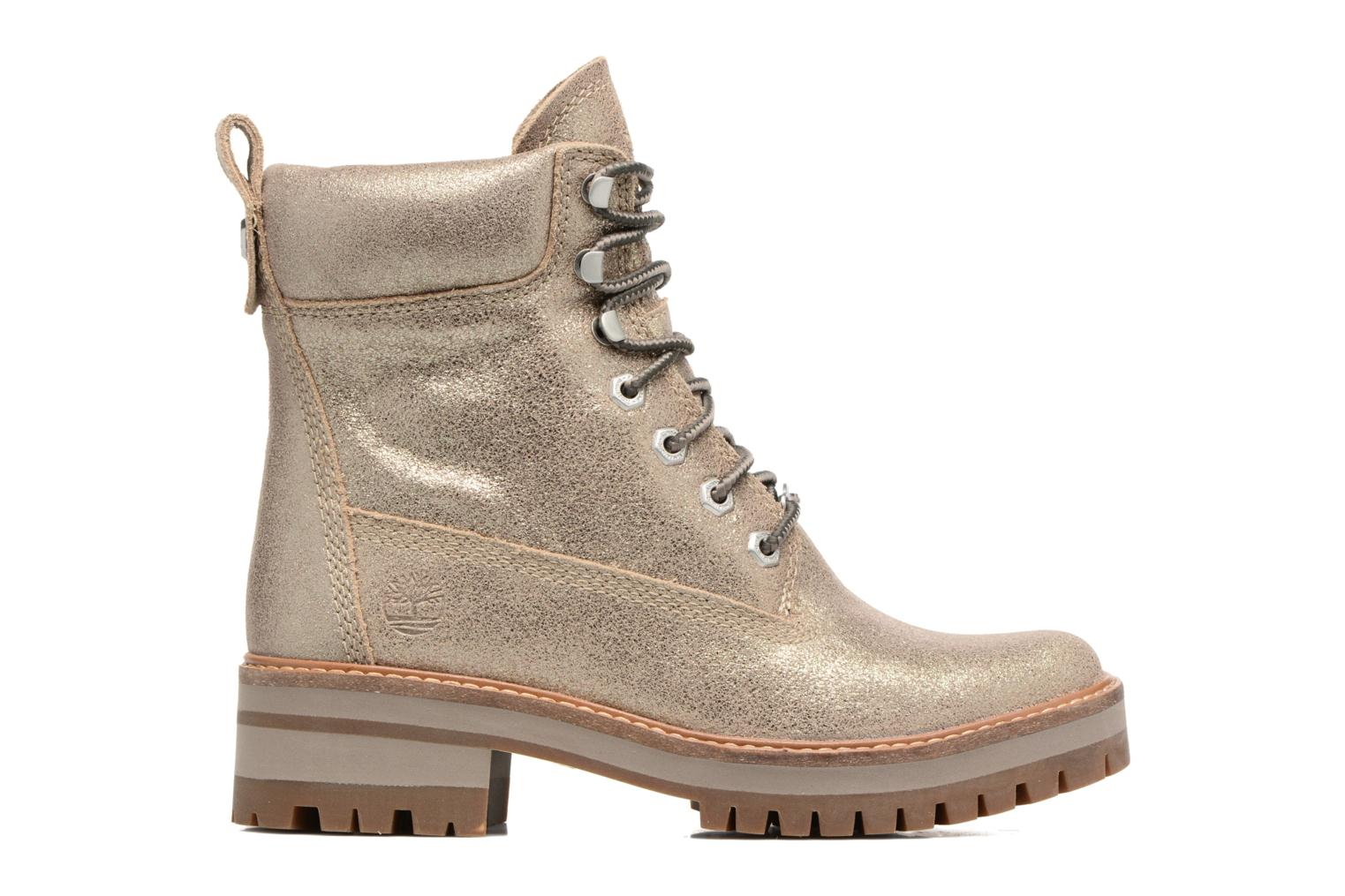 Courmayeur Valley Yellow Boot Gold Shiny Suede