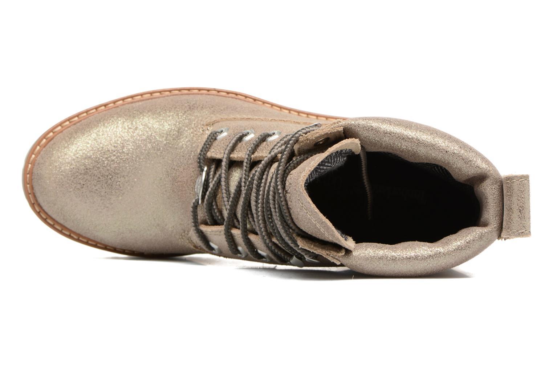 Stiefeletten & Boots Timberland Courmayeur Valley Yellow Boot gold/bronze ansicht von links