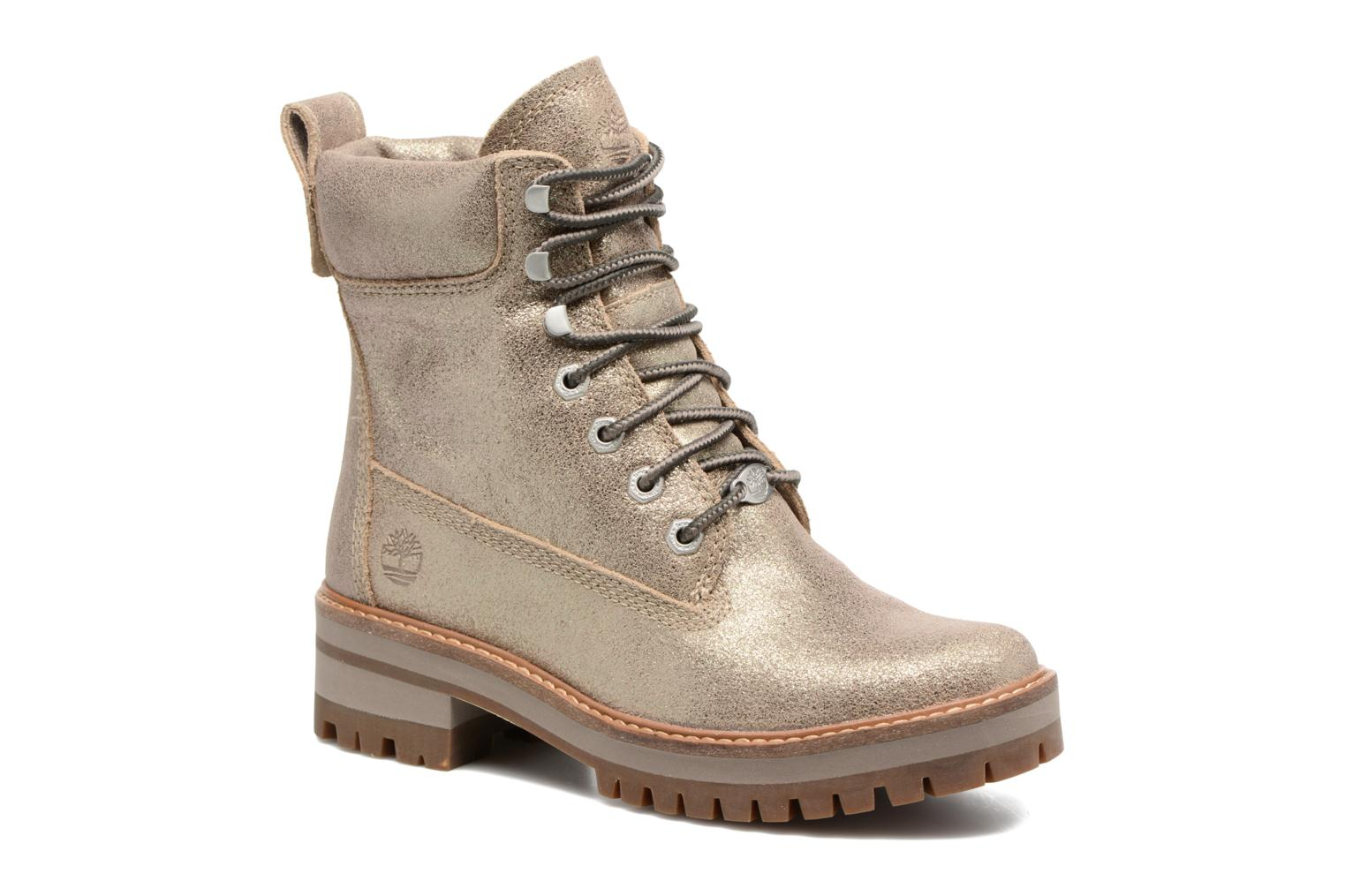 Courmayeur Valley Gold Boot - Gold shiny suede Timberland irXc9ucw4s