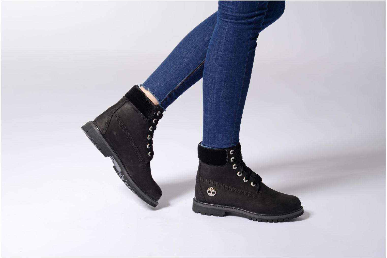 Bottines et boots Timberland 6in Premium WP Boot L/F- W Violet vue bas / vue portée sac