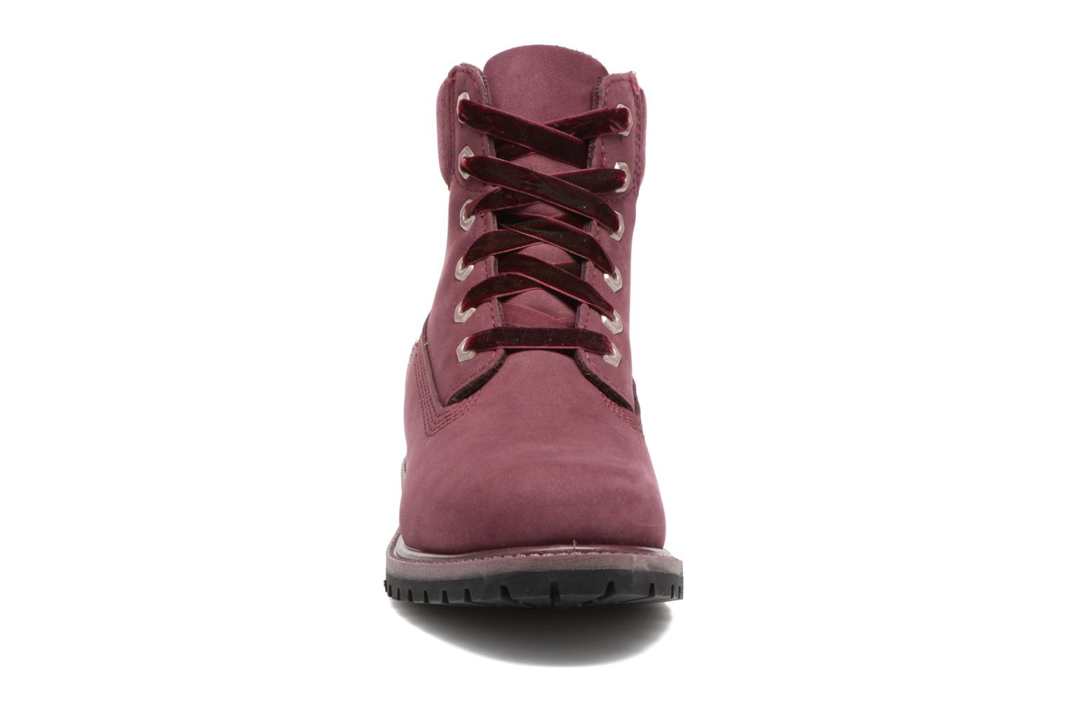 Bottines et boots Timberland 6in Premium WP Boot L/F- W Violet vue portées chaussures