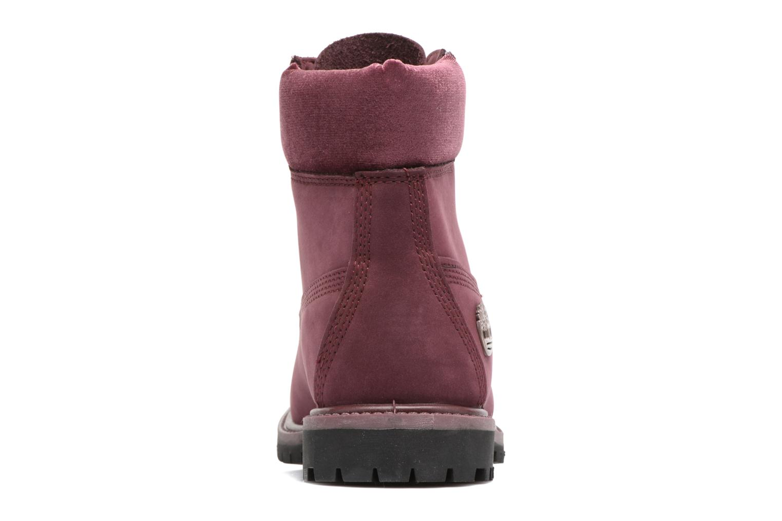 Bottines et boots Timberland 6in Premium WP Boot L/F- W Violet vue droite