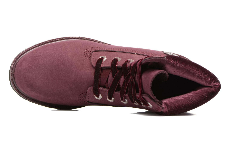 Bottines et boots Timberland 6in Premium WP Boot L/F- W Violet vue gauche
