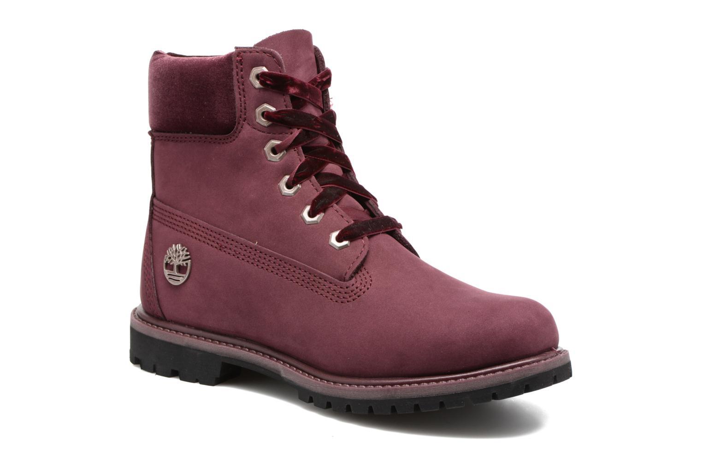 Bottines et boots Timberland 6in Premium WP Boot L/F- W Violet vue détail/paire