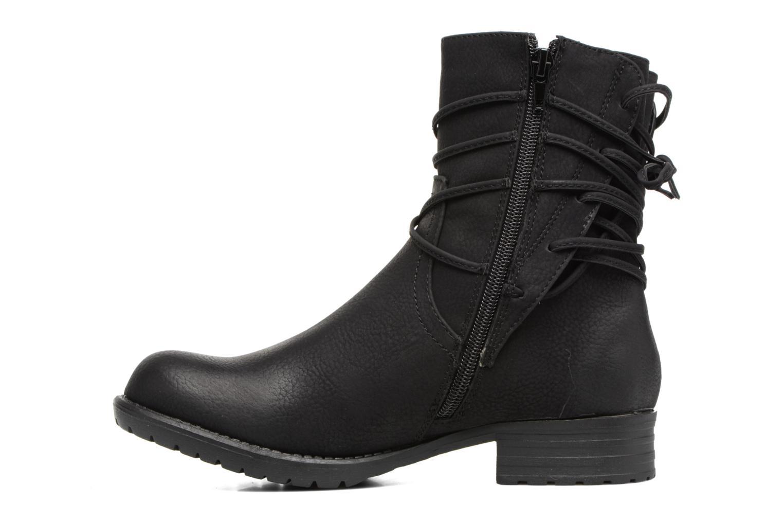 Bottines et boots Bullboxer Manona Noir vue face