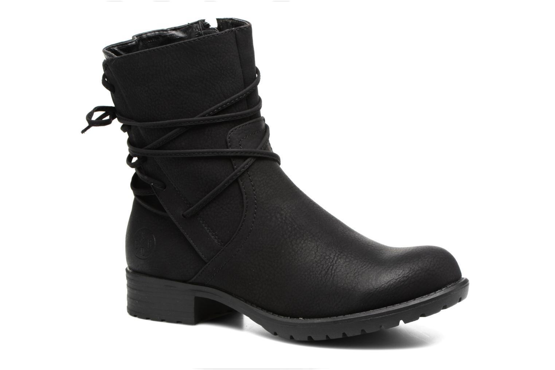 Boots en enkellaarsjes Bullboxer Manona Zwart detail