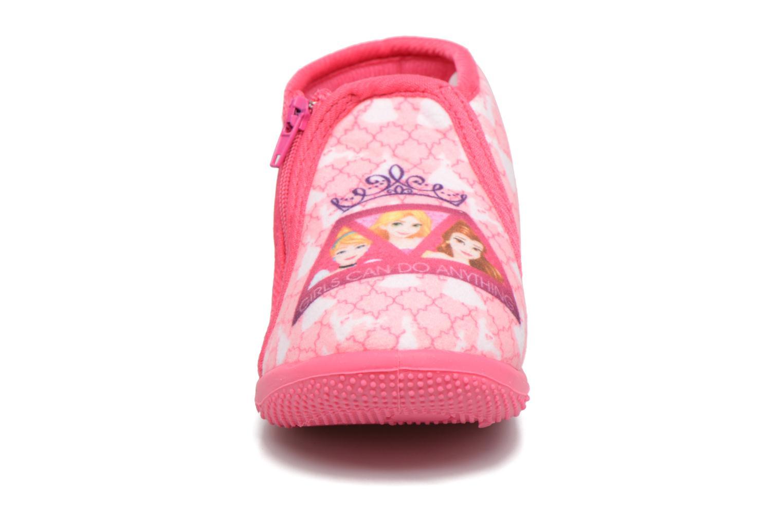 Chaussons Frozen Scordia Rose vue portées chaussures