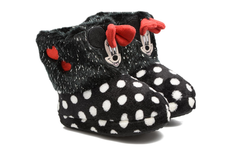Pantoffels Minnie Spinato Zwart detail
