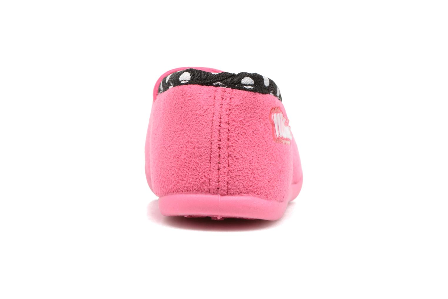 Chaussons Minnie Songe Rose vue droite