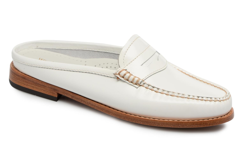 Zapatos promocionales G.H. Bass Weejun WMN Penny Slide (Blanco) - Mocasines   Descuento de la marca