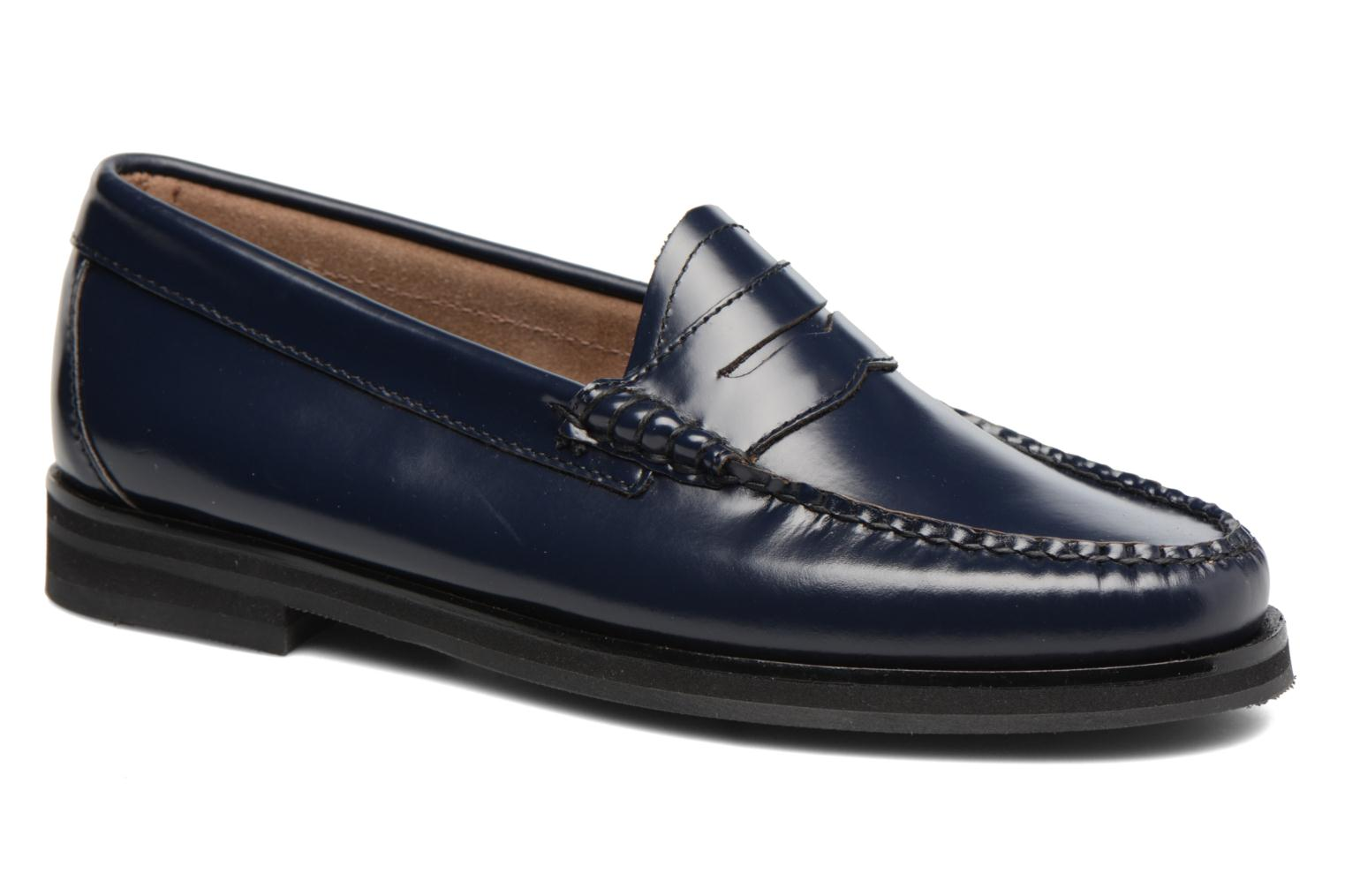 Loafers G.H. Bass Weejun WMN Penny Blue detailed view/ Pair view