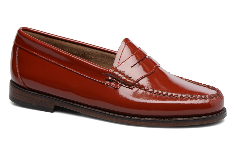 Grandes descuentos últimos zapatos G.H. Bass Weejun WMN Penny Wheel (Rojo) - Mocasines Descuento