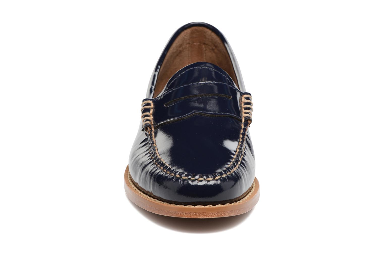 Slipper G.H. Bass Weejun WMN Penny Wheel blau schuhe getragen