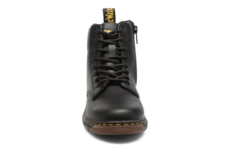 Bottines et boots Dr. Martens Malky J Noir vue portées chaussures