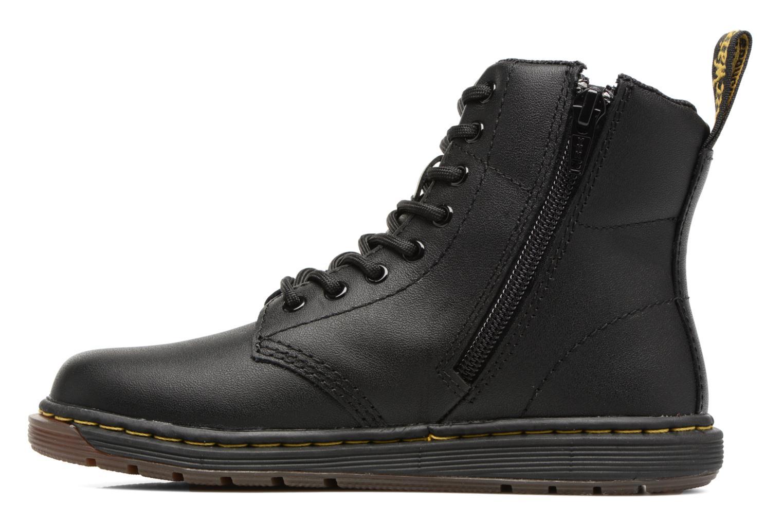 Bottines et boots Dr. Martens Malky J Noir vue face