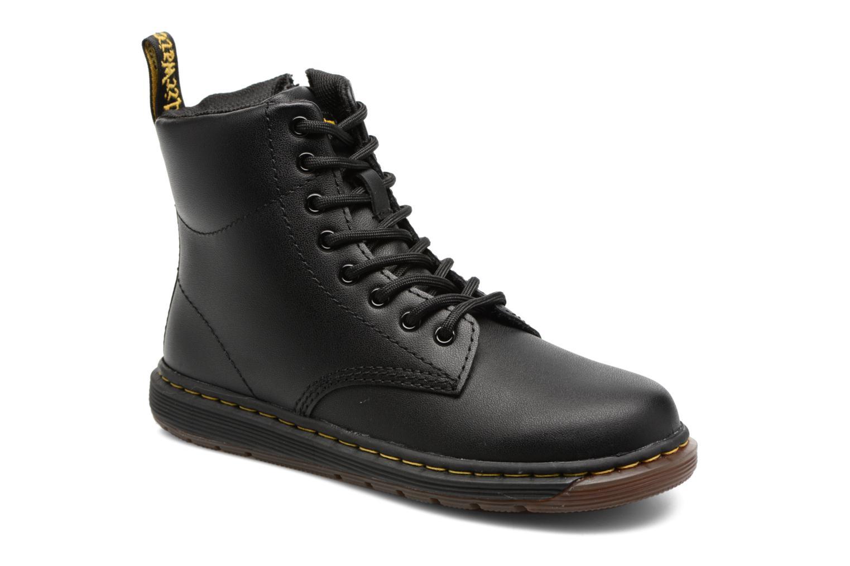 Bottines et boots Dr. Martens Malky J Noir vue détail/paire