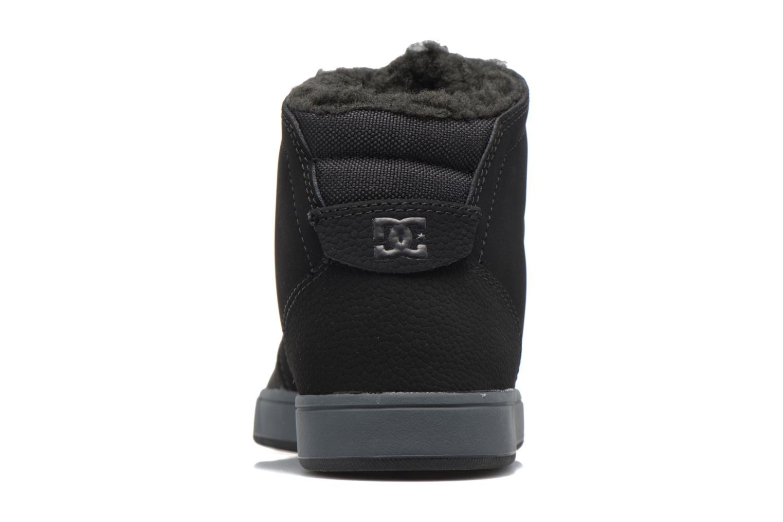 Baskets DC Shoes Crisis High WNT M Noir vue droite