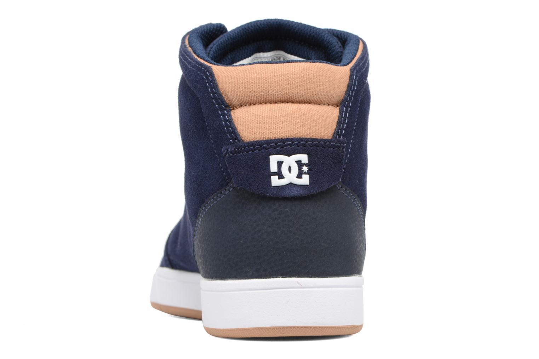 Baskets DC Shoes Crisis High Bleu vue droite